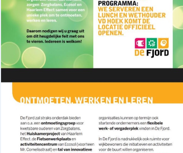 Opening Fjord november 2015